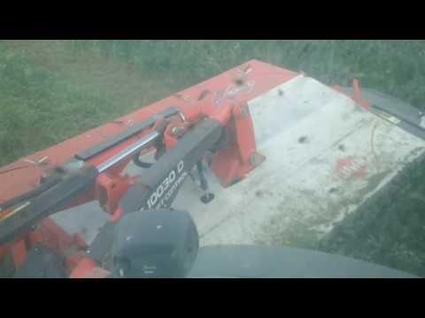Kuhn Triple mower