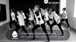 Trey Songz  Ft. Nicki Minaj  -  Touchin, Lovin Hip-hop by Alina Maslak - Open Art Studio