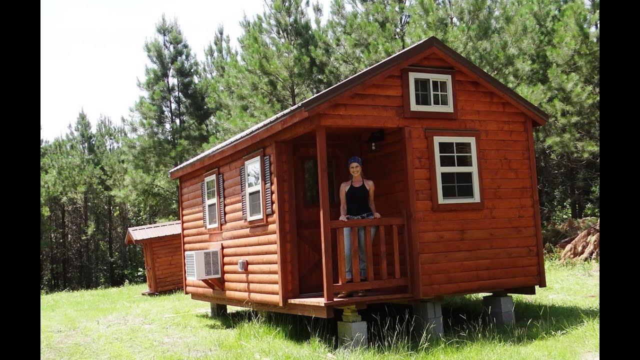Amish Log Cabin Down On The Property Teri Lafaye Youtube