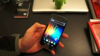 Galaxy Nexus Unboxing and First Impressions