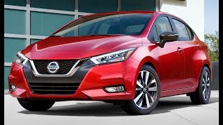 2020 Nissan Versa Exterior and Interior