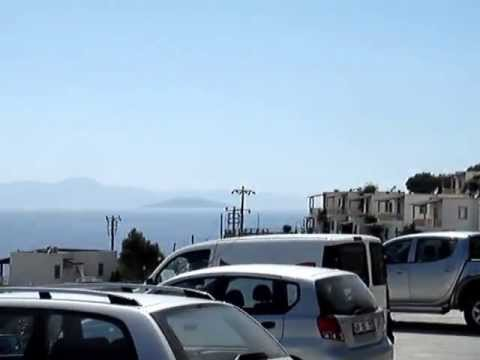 Migros Store with Best View in Turkey, near Gumusluk on the Bodrum Peninsula