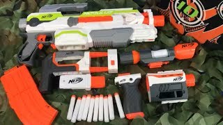 Nerf Modulus with Attachments Box of Toy Weapons for Kids