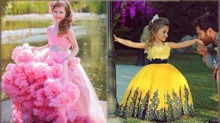 اجمل فساتين زفاف ومناسبات للاطفال بكل الالوان🍃🌺  wedding dresses for kids