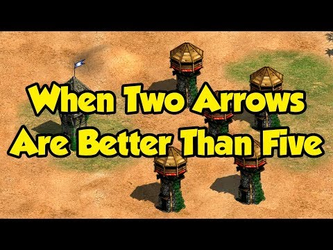 When Two Arrows are Better Than Five