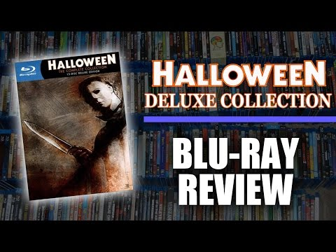 Halloween Deluxe Collection Blu-Ray Unboxing / Review (Shout Factory/Anchor Bay)