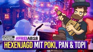 0244 🔴 FRAMSTAG mit POKI, Pan, Tobi & Community 🔴 Gronkh Livestream | 21.04.2018