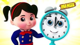 Tell Me The Time | What Time is it & More Nursery Rhymes Songs for Kids