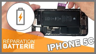 Tuto : Changer batterie iPhone 5C