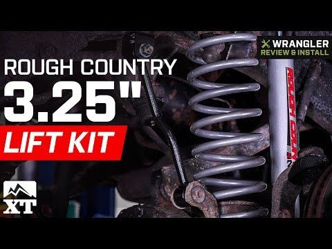 Jeep Wrangler Rough Country 3.25