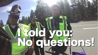 DUI checkpoint refusal at illegal Tahoe roadblock