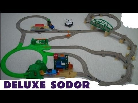 Thomas And Friends DELUXE SODOR ADVENTURE TRAIN SET Kids Toy Thomas The Tank Engine