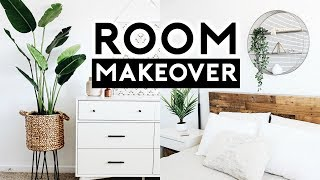 BEDROOM MAKEOVER + TARGET HACKS 2019 | Nastazsa