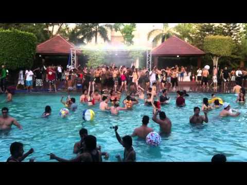 vamos a la playa pool party new delhi youtube