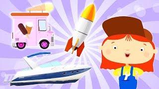 3D Cartoons for kids. Cartoon compilation.
