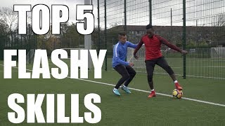 TOP 5 FLASHY SKILL MOVES TO BEAT DEFENDERS ft PWG