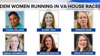 Virginia primary election winners include many women
