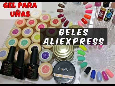 COMPRAS GELES DE ALIEXPRESS - SUPER HAUL