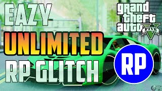 "GTA 5 1.17 Update ""Unlimited RP Glitch"" SOLO AFK! Level Up Super Fast!! (GTA V) [PATCHED]"