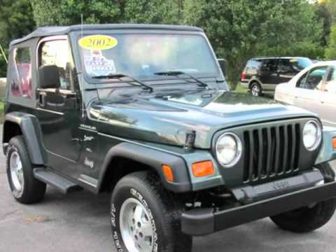 2002 Jeep Wrangler 2dr Sport (West Bridgewater, Massachusetts)