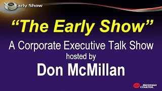 """""""The Early Show"""" - Corporate Talk with Don McMillan"""