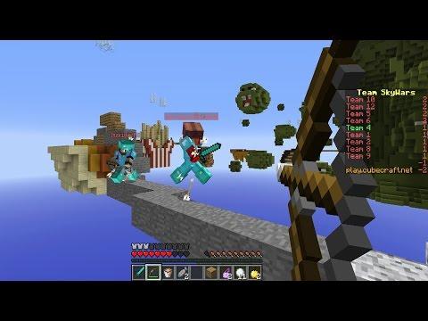 UN DIA CON MUCHA COMIDA RICA - Sky Wars Team Minecraft