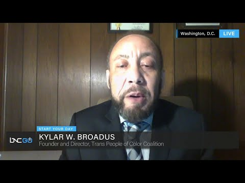 Kylar Broadus, founder of the Trans People of Color Coalition | BNC News