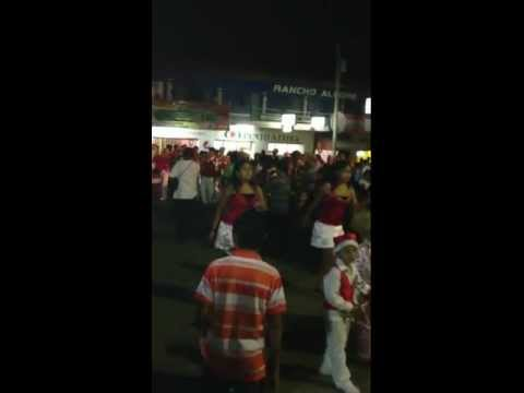 Latin Banda Independiente Centro Uno La Mquina- Desfile navideño 2012 centro uno la maquina