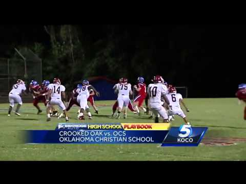 High school football:  Crooked Oak vs. Oklahoma Christian School - 09/28/2013