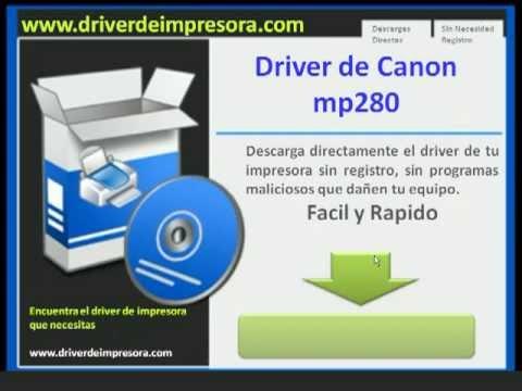 Драйвер принтер на canon mp280 на виндовс 7