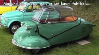 Ride the Schmitt! Vollgas im Messerschmitt Kabinenroller.