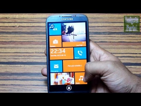 #15 Top 10 LOCK SCREEN THEMES of 2013 for Android ft. GALAXY S4 [MUST WATCH]