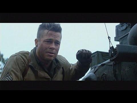 Brad Pitt se enfrenta a la Alemania nazi en 'Corazones de Acero' - cinema