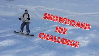 Snowboard Hız Challenge ( Kartepe )
