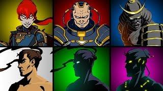САМОЕ ПОЛНОЕ ПРОХОЖДЕНИЕ игры Shadow Fight 2 Бой с тенью ШАДОУ ФАЙТ победил ТИТАНА все серии #КИД