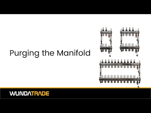 Manifold Assembly Part 4 - Purging the Manifold