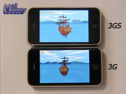 iPhone 3G Vs 3GS - 3D benchmark