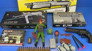 Toys Guns - Box of Toys Gun ! NEW Military Guns Toys - Toys for Kids