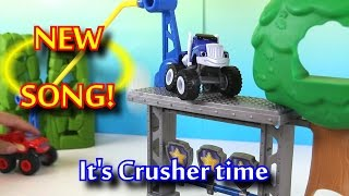 Blaze and the Monster Machines Theme Song Crusher Sing A Long Song