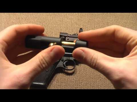 Custom Crossman 2240 Pellet Gun Overview/Shooting Video