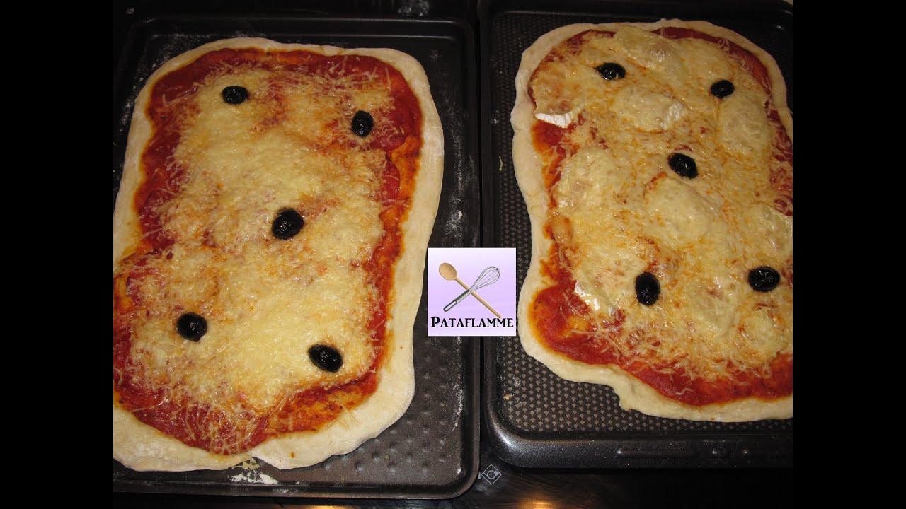 recette de p 226 te 224 pizza maison tr 232 s rapide pataflamme