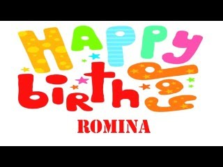 Romina   Wishes & Mensajes - Happy Birthday