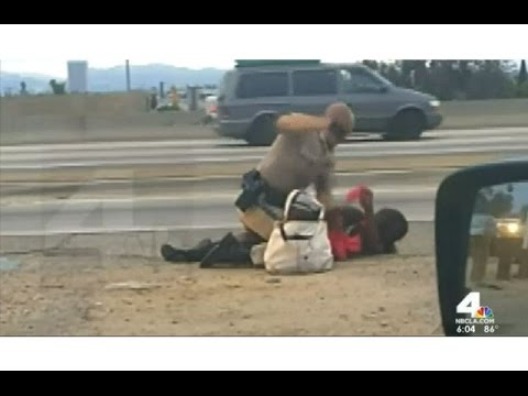 Justice Served! Brutal Cop Fired For Beating Woman video