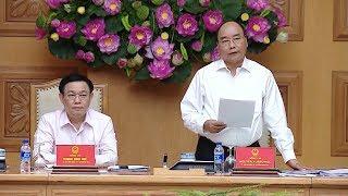 Thủ tướng họp với Hội đồng Tư vấn chính sách tài chính tiền tệ