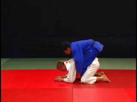 Judo - Técnicas de estrangulamiento Hadake Jime