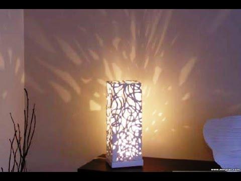 Своими руками для дома светильники