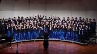 'Glory, Hallelujah to the Newborn King' -Symphonic Choir, ICS Dec.7, 2013