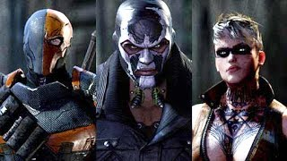 Batman Arkham Origins All 8 Assassins FULL Boss Battle Fight - Gameplay