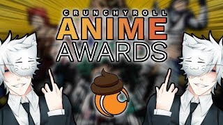 THE CRUNCHYROLL ANIME AWARDS STILL SUCKS.