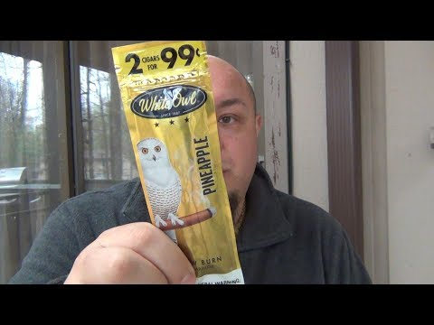 Gas Station Cigars : White Owl (PINEAPPLE)